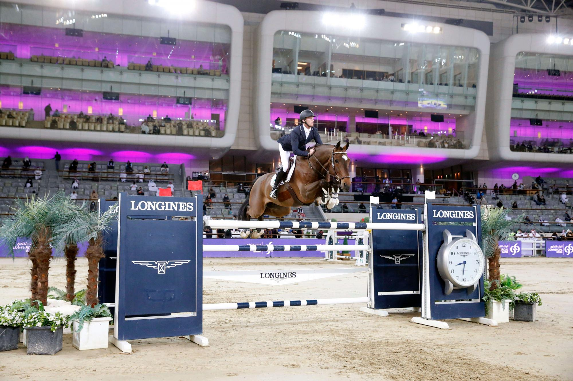 Delux Van T&L 3rd in the CSI5 * GP of Doha!