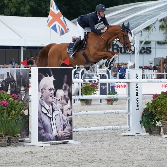 Ilusionata becomes 3rd in the Basel GP!